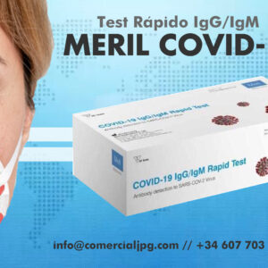 Kit Rápido de Anticuerpo IgG/IgM Meril Covid-19